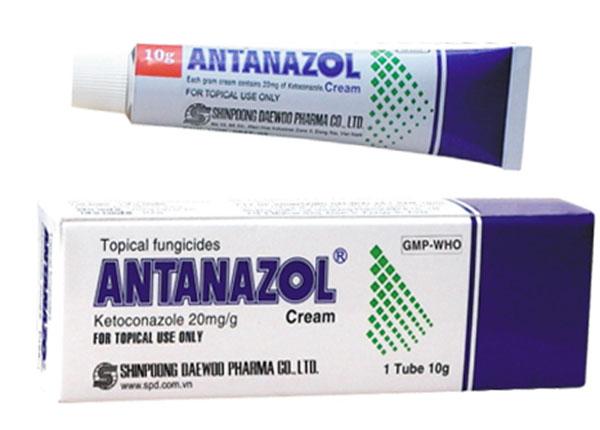 Thuốc Antanazol được sử dụng để điều trị các vấn đề da liễu do vi nấm gây ra
