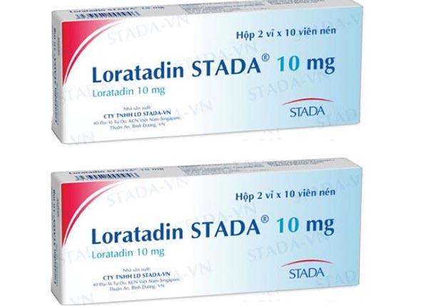 Thuốc Loratadin 10mg