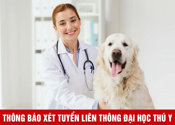 Xét tuyển Liên thông Đại học Thú y tại Hà Nội